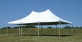 Where to rent TENT, 20 X 30 WHITE POLE in Conyers GA