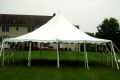 Where to rent TENT, 30 X 30 POLE TENT WHITE in Conyers GA