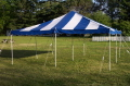Where to rent TENT, 20 X 20 POLE BLUE in Conyers GA