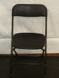 Where to rent CHAIRS, FOLDING BLACK in Conyers GA