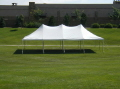 Where to rent TENT, 20 X 40 POLE WHITE in Conyers GA