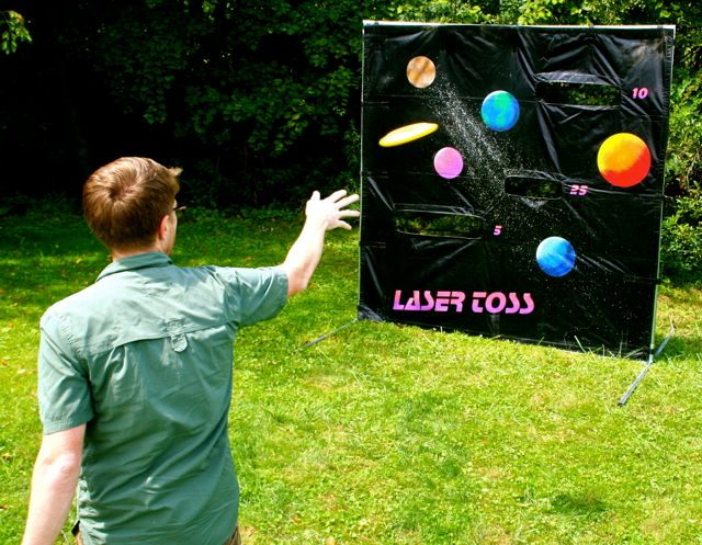 Where to find GAME, LASER TOSS in Conyers