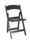 Where to rent CHAIRS  BLACK PADDED in Conyers GA