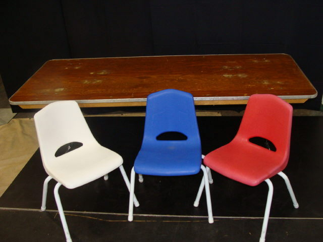Where to find CHAIRS, PAL CHILD WHITE in Conyers