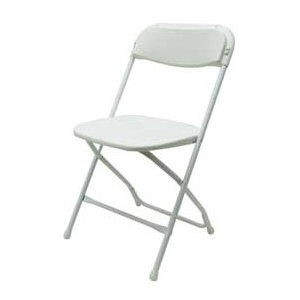 Where to find CHAIRS, FOLDING BRIGHT WHITE in Conyers