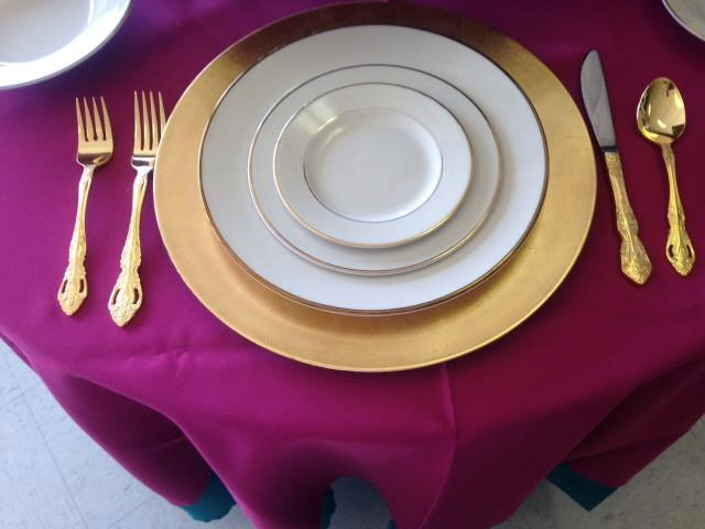 Where to find FLATWARE, GOLD DINNER FORK in Conyers