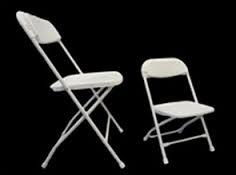 Where to find CHAIRS, FOLD CHILDS WHITE in Conyers