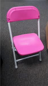 Where to find CHAIRS, FOLD CHILDS PINK in Conyers