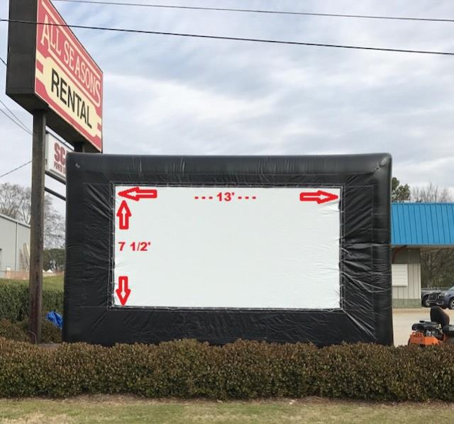 Where to find SCREEN, INFLATABLE MOVIE in Conyers